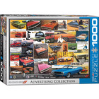 Eurographics Puzzles . EGP Dodge Advertising Collection  - 1000pc Puzzle