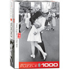 Eurographics Puzzles . EGP LIFE V-J Day Kiss in Times Square