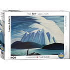 Eurographics Puzzles . EGP Lake and Mountains - 1000pc Puzzle