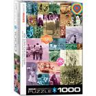Eurographics Puzzles . EGP 60s Love Collection - 1000pc Puzzle