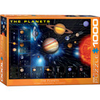 Eurographics Puzzles . EGP The Planets - 1000pc Puzzle
