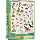 Eurographics Puzzles . EGP Birds - 1000pc Puzzle