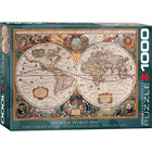 Eurographics Puzzles . EGP Orbis Geographica World Map - 1000pc Puzzle
