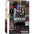 Eurographics Puzzles . EGP KISS The Albums - 1000pc Puzzle