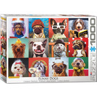 Eurographics Puzzles . EGP Funny Dogs - 1000pc Puzzle
