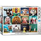 Eurographics Puzzles . EGP Funny Animals - 1000pc Puzzle