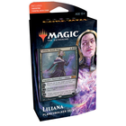 "Wizards of the Coast . WOC Magic the Gathering: Core 2021 ""LILIANA"" Planeswalker Deck"