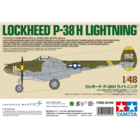 Tamiya America Inc. . TAM 1/48 Lockheed P-38H Lightning LTD