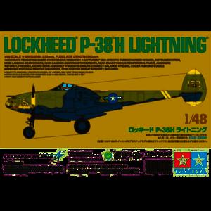 Tamiya America Inc. . TAM 1/48 Lockheed P-38H Lightning LTD