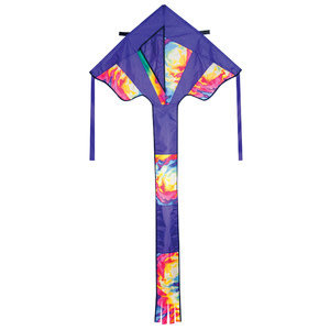 "Skydogs Kites . SKK 33"" Tie Dye Best Flier"
