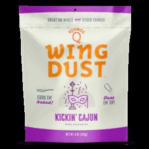 Kosmos Que . KOS Kickin' Cajun Wing Dust