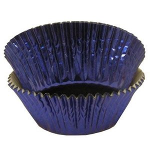 CK Products . CKP Blue Foil Baking Cup Pkg/500