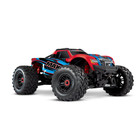 Traxxas Corp . TRA Traxxas Maxx with 4S ESC 1/10 Scale 4WD Brushless Electric Monster Truck RedX