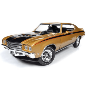 Auto World . AWD American Muscle 1/18 1971 Buick GSX Hardtop (MCACN) - Cortez Gold