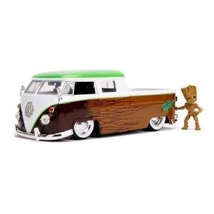 Jada Toys . JAD Hollywood Rides 1963 Volkswagen Bus w/ Groot