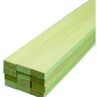 Midwest Products Co. . MID Basswood Strips 1/4X1/2X24