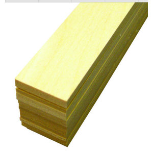 Midwest Products Co. . MID Basswood Strips 1/8X1X24