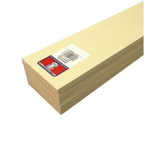Midwest Products Co. . MID BASSWOOD 3/8x3x24