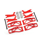 Traxxas Corp . TRA Traxxas Suspension kit, WideMAXX, red