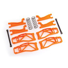 Traxxas Corp . TRA Traxxas Suspension kit, WideMAXX, ORANGE