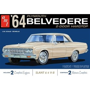 AMT\ERTL\Racing Champions.AMT 1/25 1964 Plymouth Belvedere