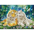 Diamond Dot . DDT Tiger Smooch - Diamond Art Kit