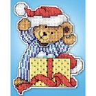 Design Works . DWK Bear Ornament - Cross Stitch