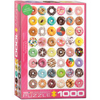 Eurographics Puzzles . EGP Donuts Tops Sweet Collection Eurographics