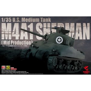 Asuka . ASK 1/35 M4A1 Sherman Mid Production