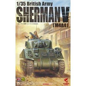 Asuka . ASK 1/35 British Sherman M4A4