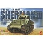 Asuka . ASK 1/35 British Army Sherman III Mid Production