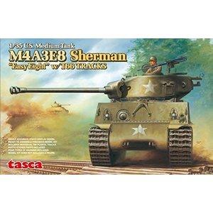 Asuka . ASK 1/35 M4A3E8 Sherman Easy Eight T66 Tracks