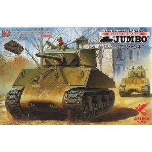 Asuka . ASK 1/35 M4A3E2 Jumbo Sherman