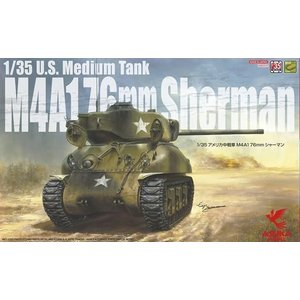 Asuka . ASK 1/35 M4A1 76mm