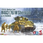 Asuka . ASK 1/35 M4A3(76)W Sherman With Figures