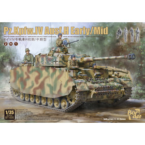Border Model . BDM 1/35 Panzer IV Ausf.H Early/Middle With Tank Crew