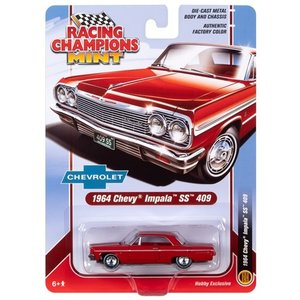 Racing Champions . RCD 1/64 1964 Chevy Impala Hardtop Riverside Red