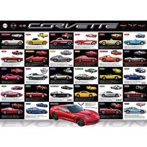 Eurographics Puzzles . EGP Corvette Evolution 1000 pc Puzzle