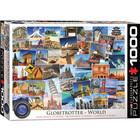 Eurographics Puzzles . EGP Globetrotter World 1000 pc Puzzle