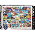 Eurographics Puzzles . EGP Globetrotter Beaches 1000 pc Puzzle