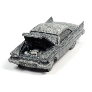 Auto World . AWD 1/64 Christine 1958 Plymouth Fury After Fire