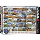 Eurographics Puzzles . EGP Globetrotter Castles/Palaces Puzzle 1000pc