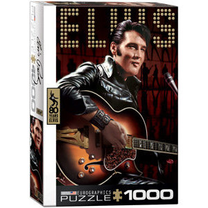 Eurographics Puzzles . EGP Elvis Presley Comeback Puzzle 1000pc