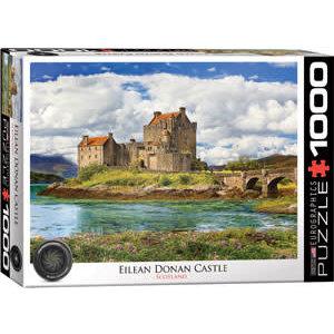 Eurographics Puzzles . EGP Eilean Donan Castle Scottland Puzzle 1000pc
