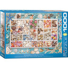 Eurographics Puzzles . EGP Seashell Collection Puzzle 1000pc