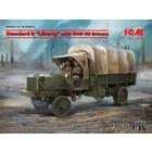 Icm . ICM 1/35 Standard B Liberty Truck With US Drivers WWI