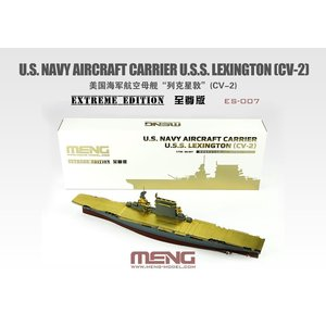 Meng . MEG 1/700 U.S.S. Lexington CV-2 Extreme Edition