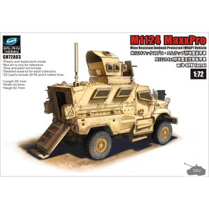 Galaxy Hobby . GLH 1/72 M1124 MaxxPro MRAP Vehicle w/ O-GPK Turret