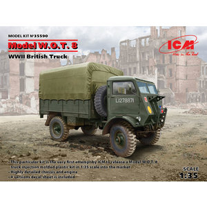 Icm . ICM 1/35 W.O.T. 8 WWII British Truck