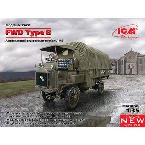 Icm . ICM 1/35 FWD Type B WWI US Army Truck